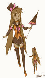 Hazel Magical girl outfit concept
