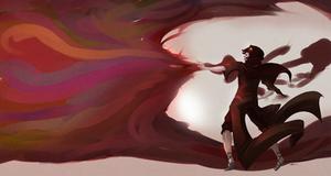 Seer of Blood by Marraphy