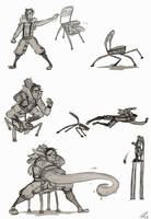 Beowulf's Chair concept by Marraphy