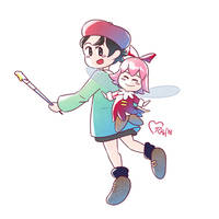 Adeleine and Ribbon
