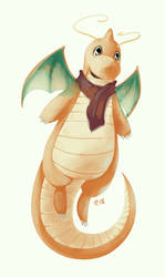 Dragonite by Marraphy