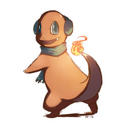Charmander by Marraphy