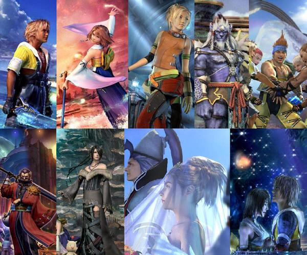 Final Fantasy Characters Wallpaper