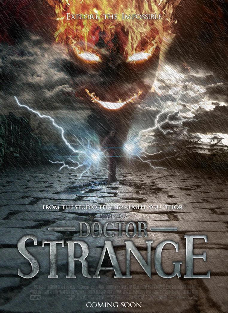 marvel film dr strange