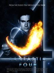 Fantastic Four Reboot Poster