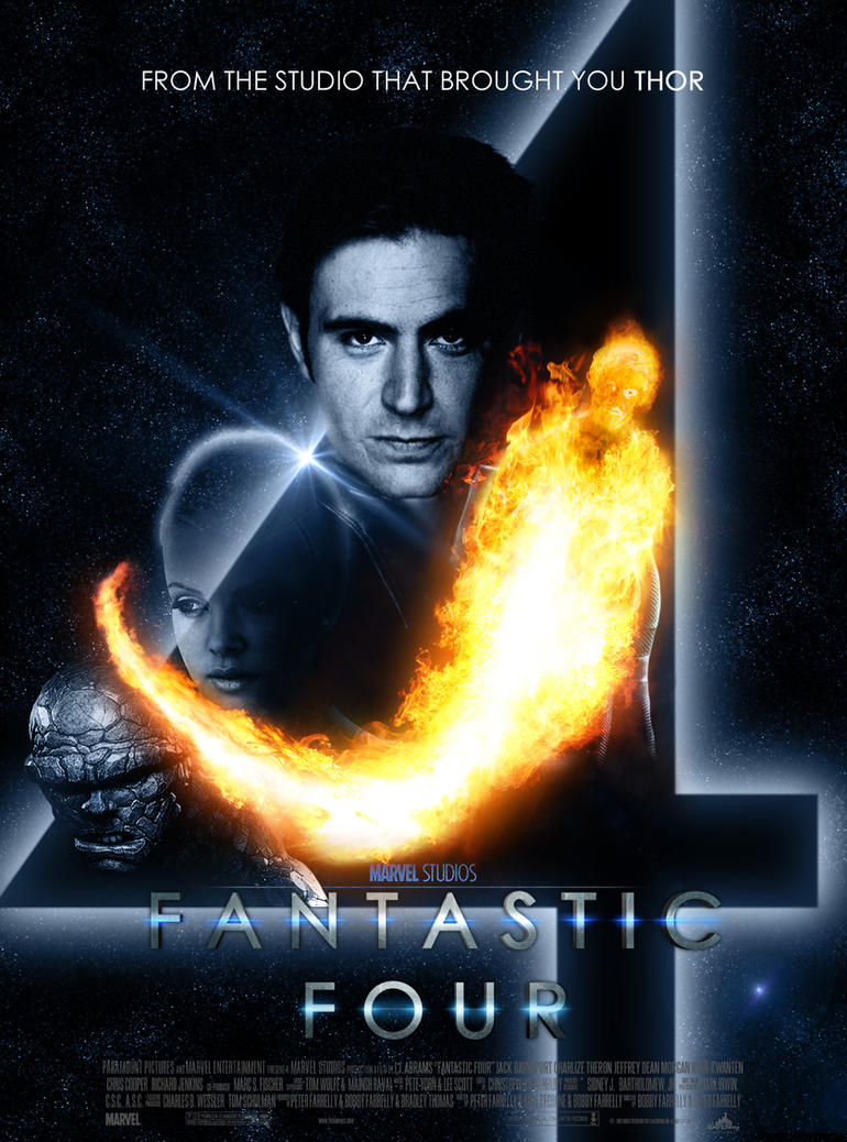 fantastic four reboot poster by skinnyglasses on deviantart