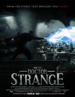 Doctor Strange Poster by SkinnyGlasses