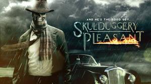Skulduggery Pleasant Banner