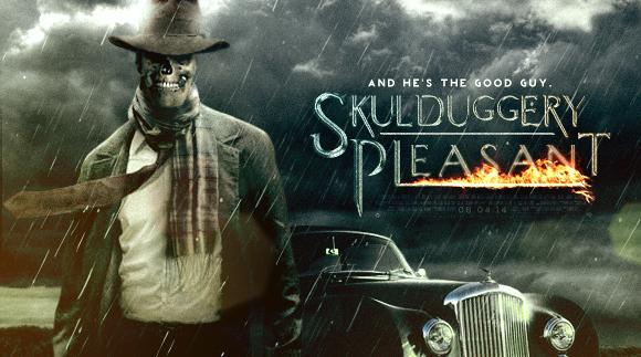 Skulduggery Pleasant Banner by SkinnyGlasses