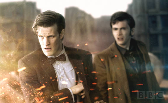 Doctor Who: 50th Anniversary Special Still by SkinnyGlasses