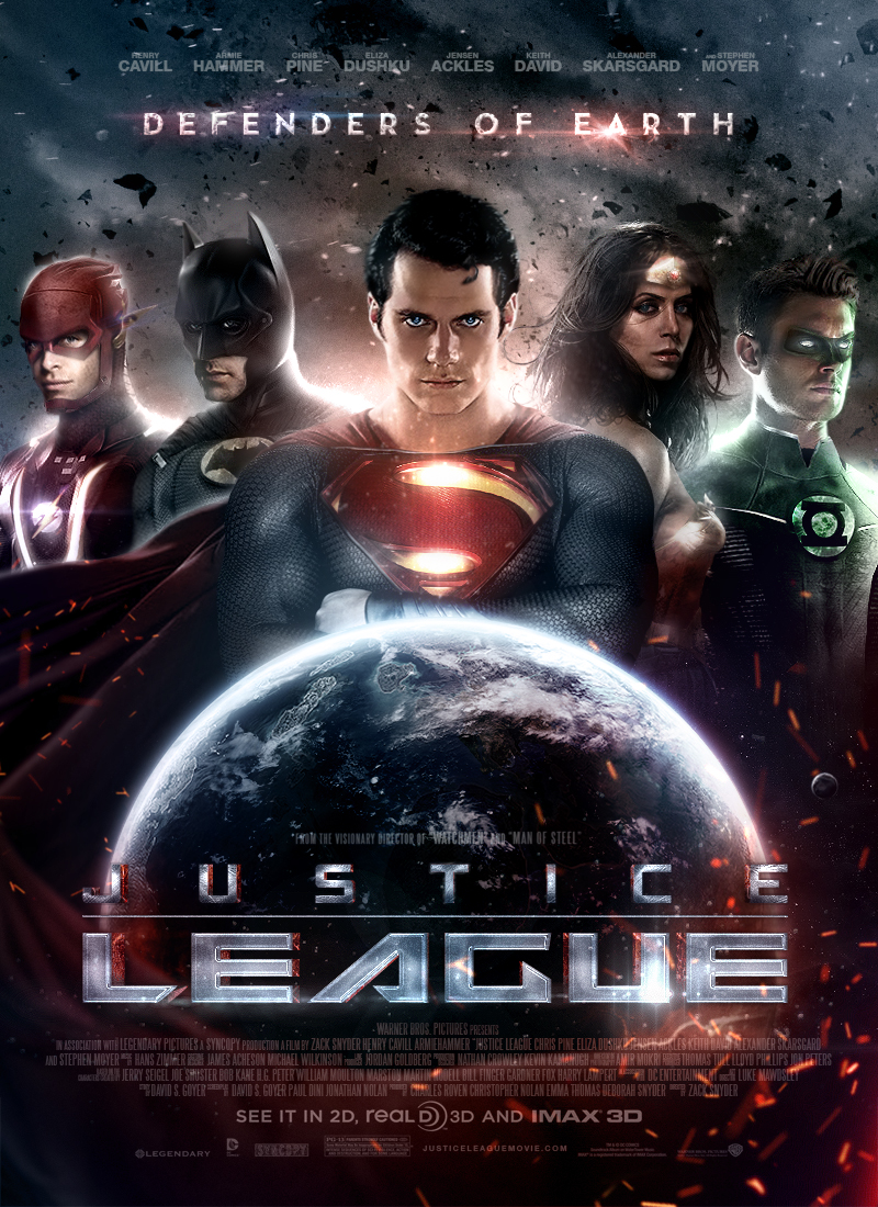 Justice League Poster by SkinnyGlasses on DeviantArt