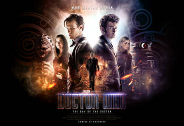 Doctor Who: The Day of the Doctor Wallpaper by SkinnyGlasses