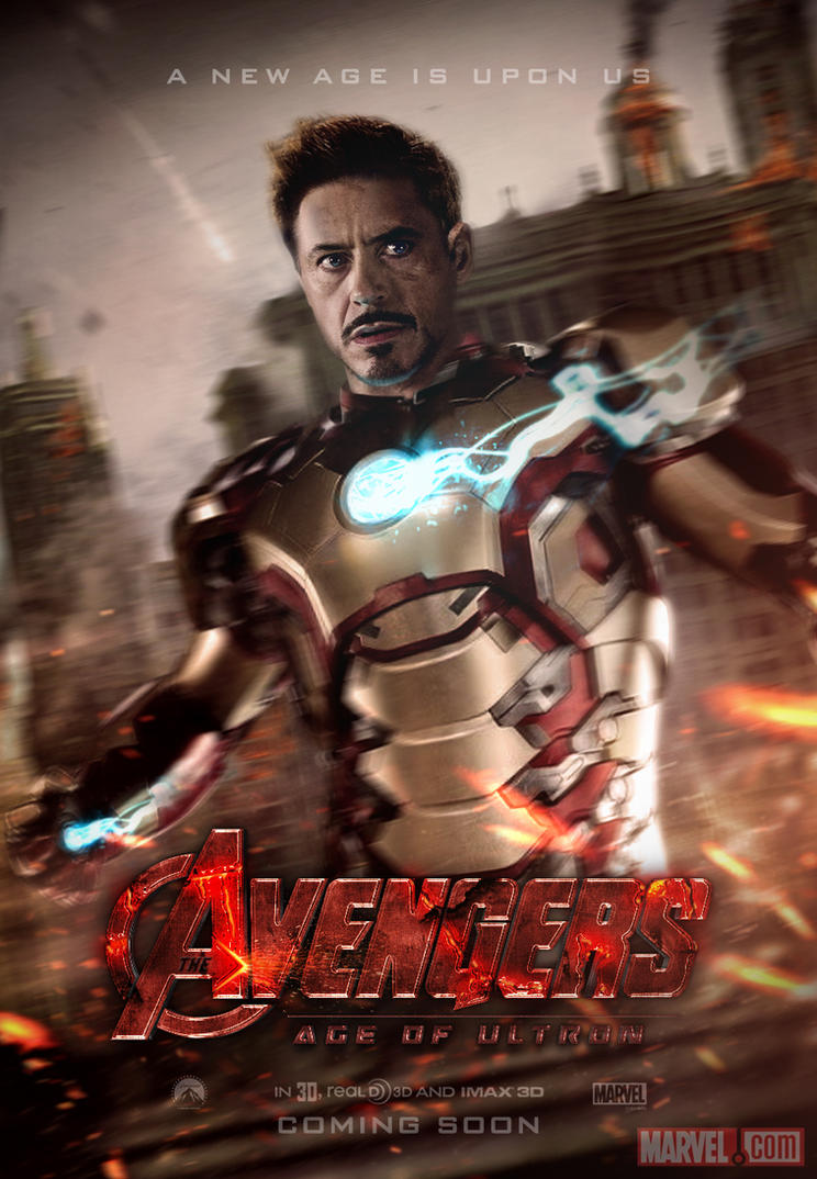 Avengers: Age of Ultron Teaser Poster by SkinnyGlasses on ...
