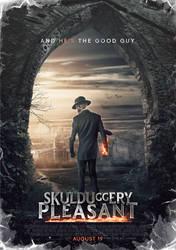 Skulduggery Pleasant Movie Poster by SkinnyGlasses
