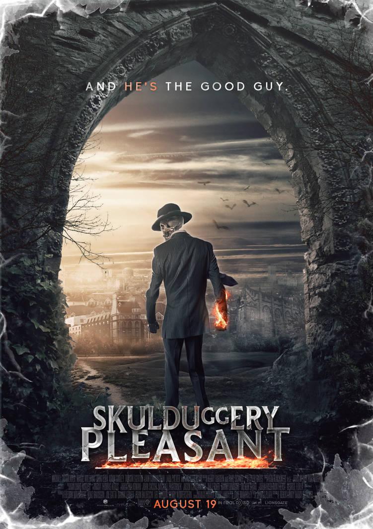 Skulduggery Pleasant Movie Poster