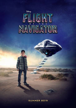 Flight of the Navigator Remake Poster