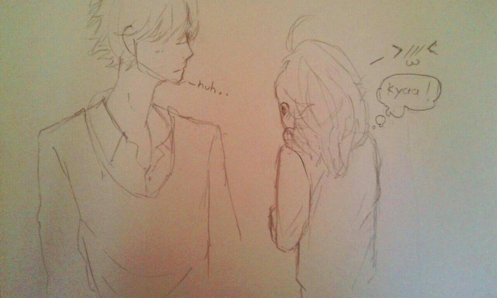 couple pencil by ViewBallum