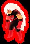 Red Lantern Jasper by BurningOleander
