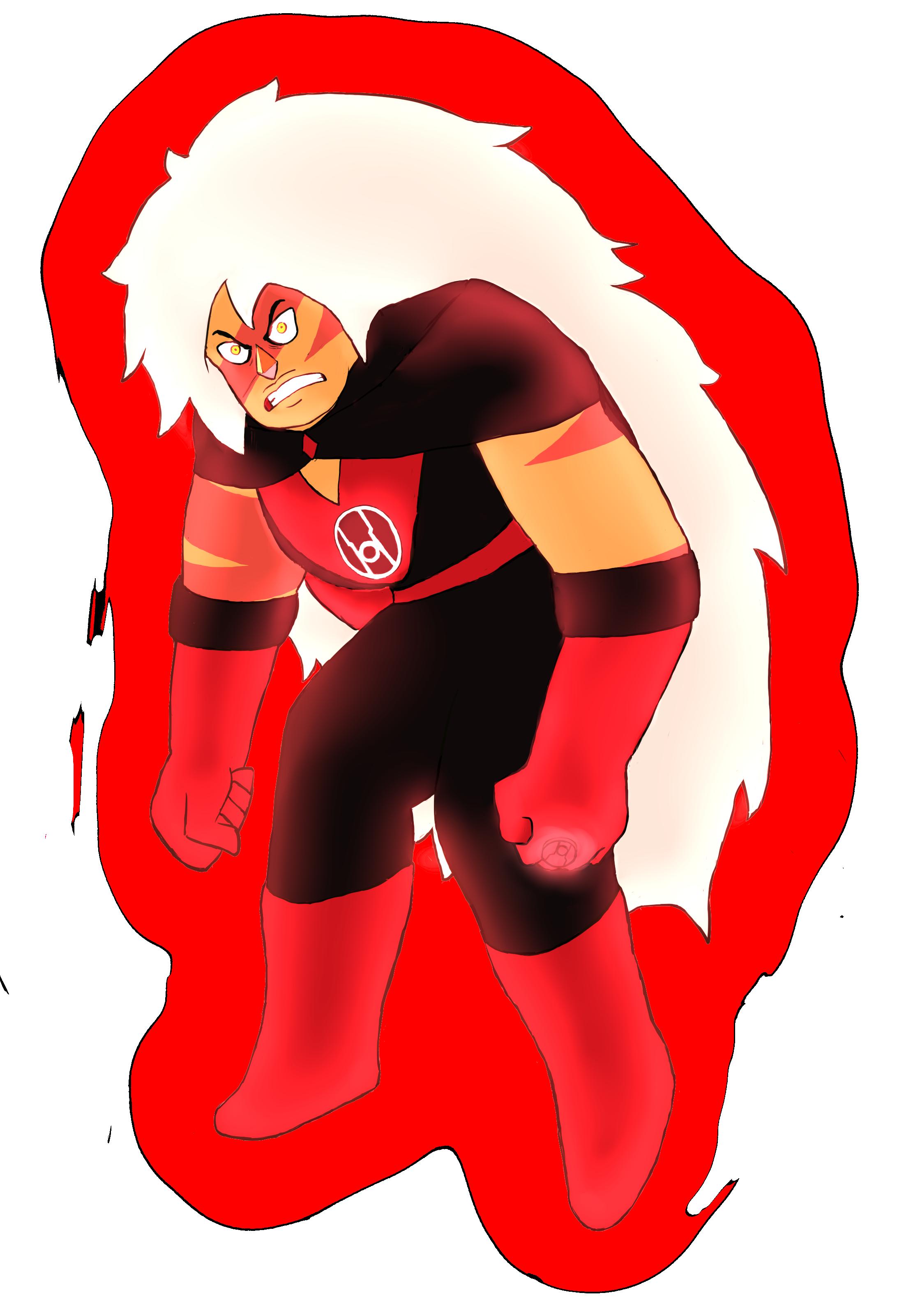 Red Lantern Jasper by BurningOleander on DeviantArt