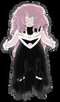 Black Lantern Rose Quartz