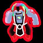 Red Lantern Bismuth by BurningOleander