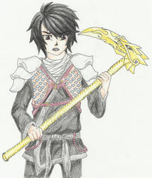 Cole The Ninja of Earth Color by HollowRain1