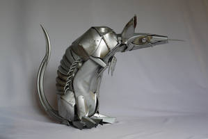 Baby Armadillo by HubcapCreatures