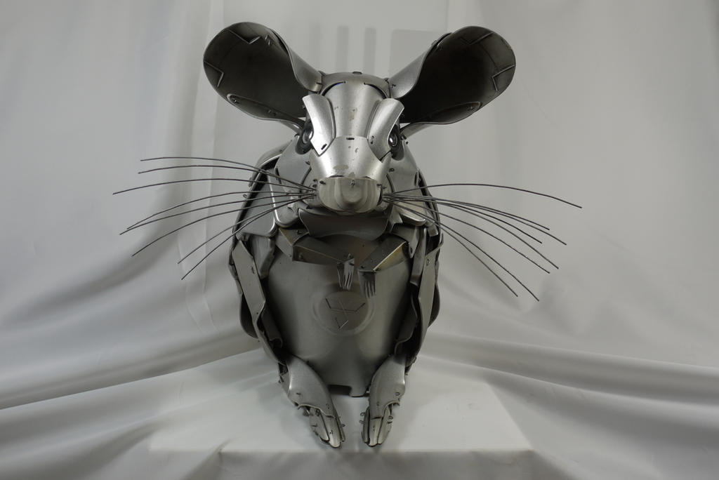 Chinchilla by HubcapCreatures