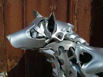 Dogs Head detail by HubcapCreatures