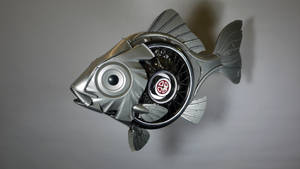 SpokeFish by HubcapCreatures