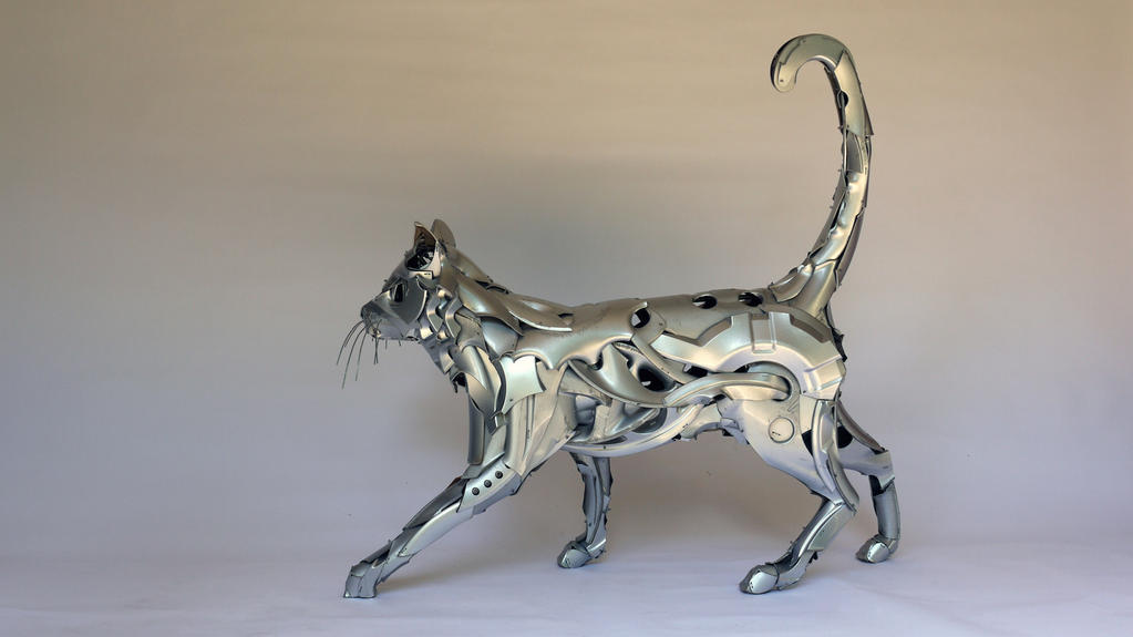 HubCat by HubcapCreatures