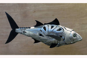 Bluefin Tuna by HubcapCreatures