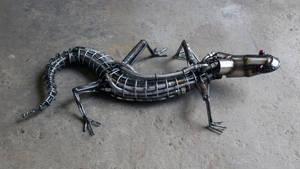 Steampunk Lizard