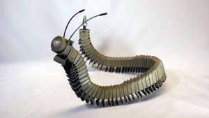 Millipede by HubcapCreatures