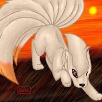 Ninetales by Davaki