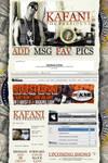 Kafani Myspace Layout