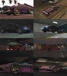 Midnight Club LA Cars