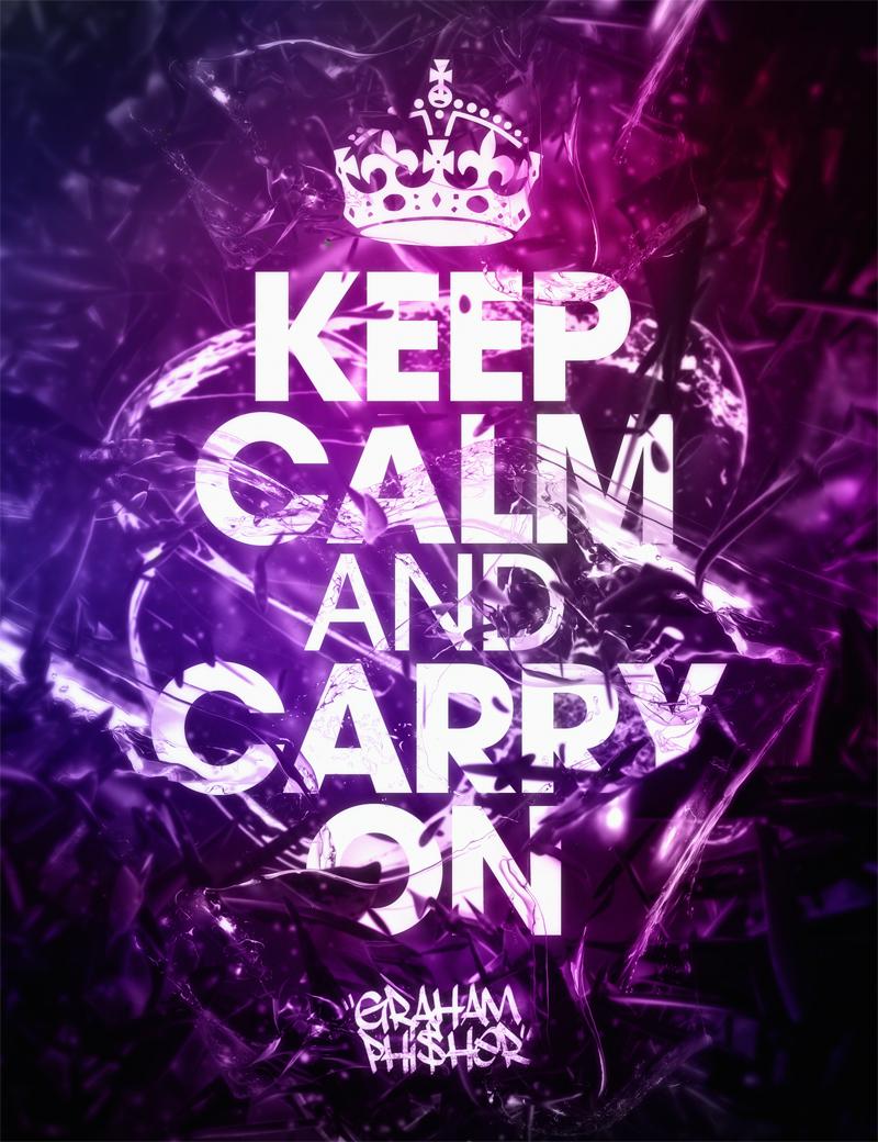 keep calm and carry on by grahamphisherdotcom on deviantart