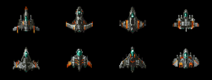 Quick 5min Shmup Ships by buko-studios