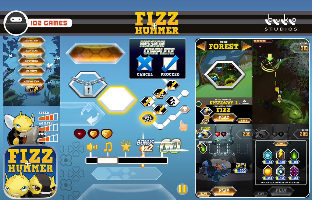 Fizz+Hummer iOS Shmup by buko-studios