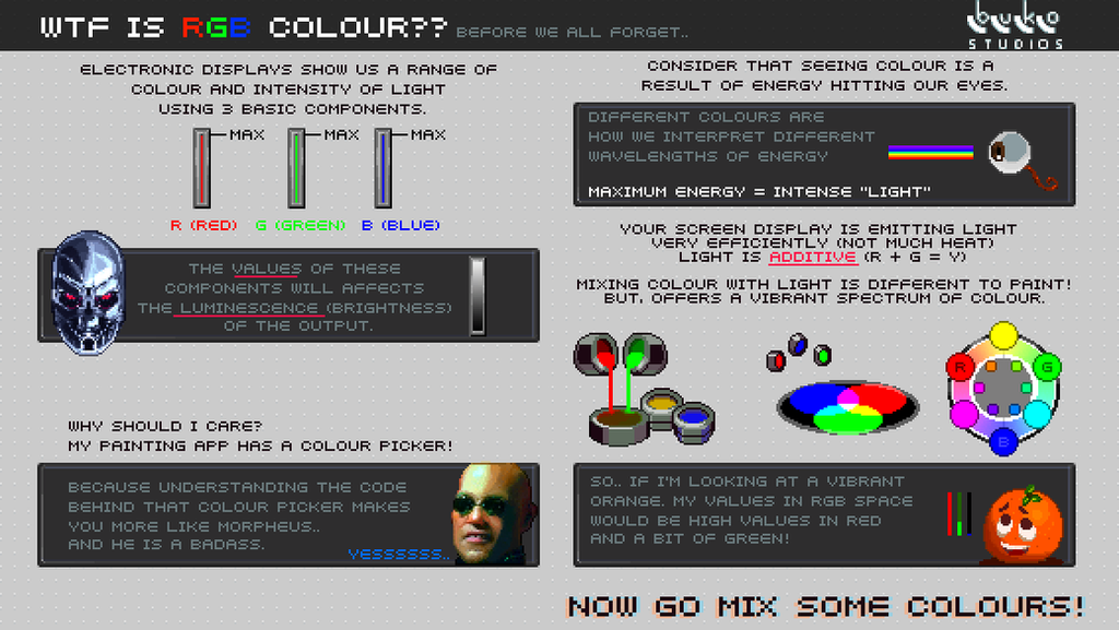 WTF is RGB Colour - before we all forget by buko-studios