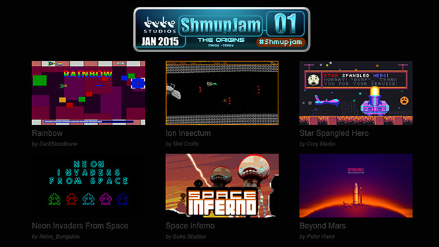 ShmupJam 01 Games Showcase by buko-studios