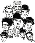 Classic Movie Comedians by Smokebutt