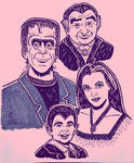 MUNSTERS by Smokebutt