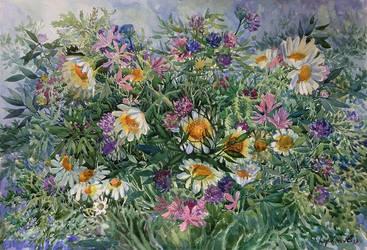 Wildflowers by OkyDraft