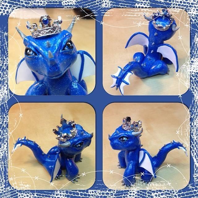royal blue dragon
