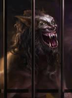 Final Wolf by mvartist
