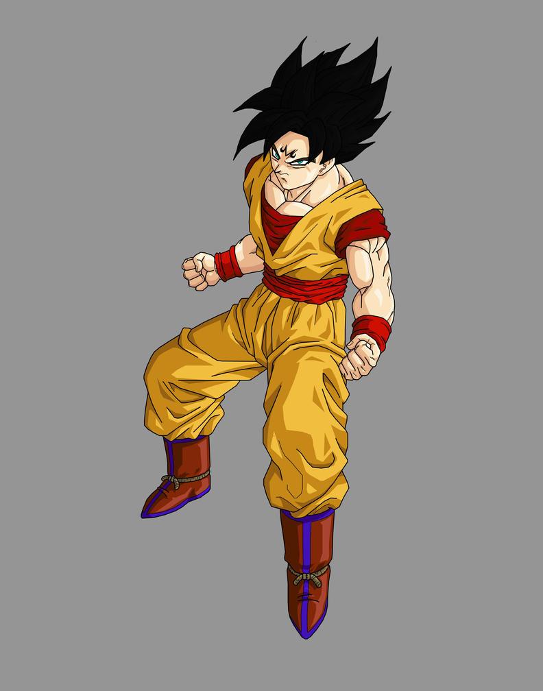 Majin Goku by chewyvalladolid on deviantART