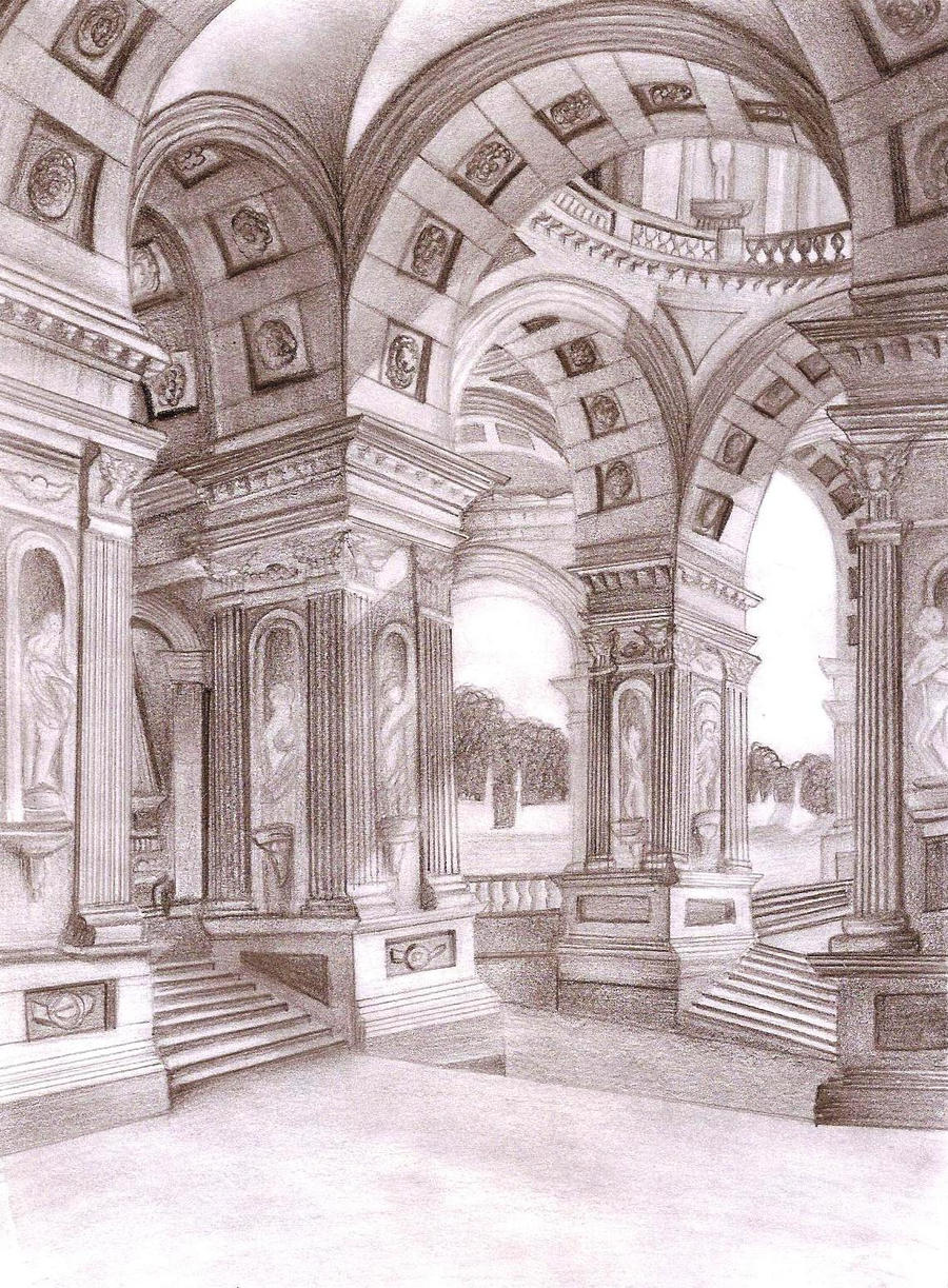 Roman palace architecture by xxxfxxx85 on DeviantArt