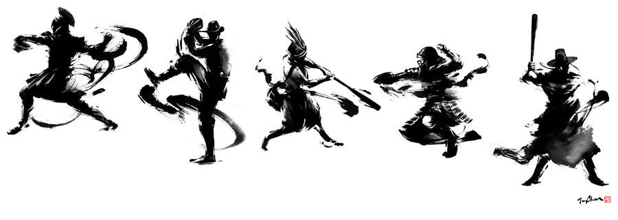 Asia Series 2013 Character development II by Jungshan